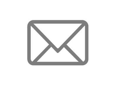 grey envelope message icon